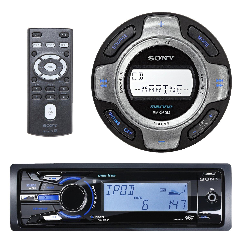 Amazon.com: Sony DSXMS60 Marine Boat MP3 USB iPod iPhone Radio ...