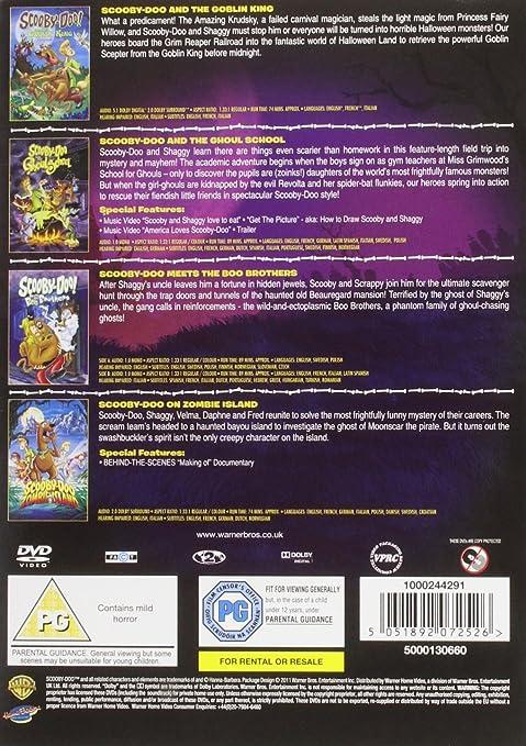 Amazon com: Scooby Doo - Spooky Bumper 4 Pack [DVD]: Movies & TV