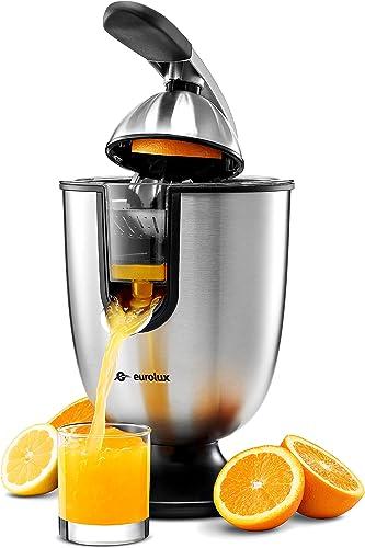 Eurolux ELCJ-1700 Electric Citrus Juicer Squeezer
