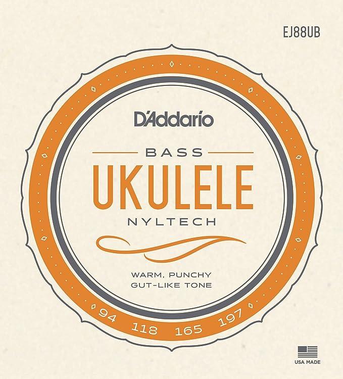 DAddario EJ88UB - Juego de cuerdas ukelele: Amazon.es: Instrumentos musicales