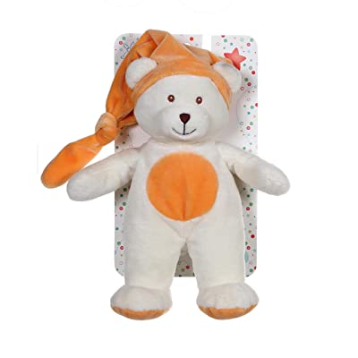 Gipsy 070595 - Doudou Noeud - Ours - Orange