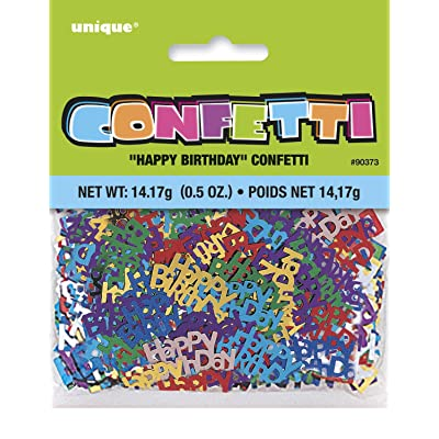 Foil Happy Birthday Confetti: Toys & Games