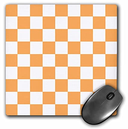 5c7fdaad2f1e0 Amazon.com: 3dRose InspirationzStore patterns - Checkered orange and ...