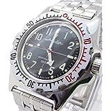 Vostok Amphibian 110647 / 2415b Scuba Diving Military Russian Watches Mechanical Automatic Mens Black