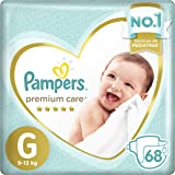 Fralda Pampers Premium Care 68 Unidades, G