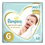 Fralda Pampers Premium Care 68 Unidades, G