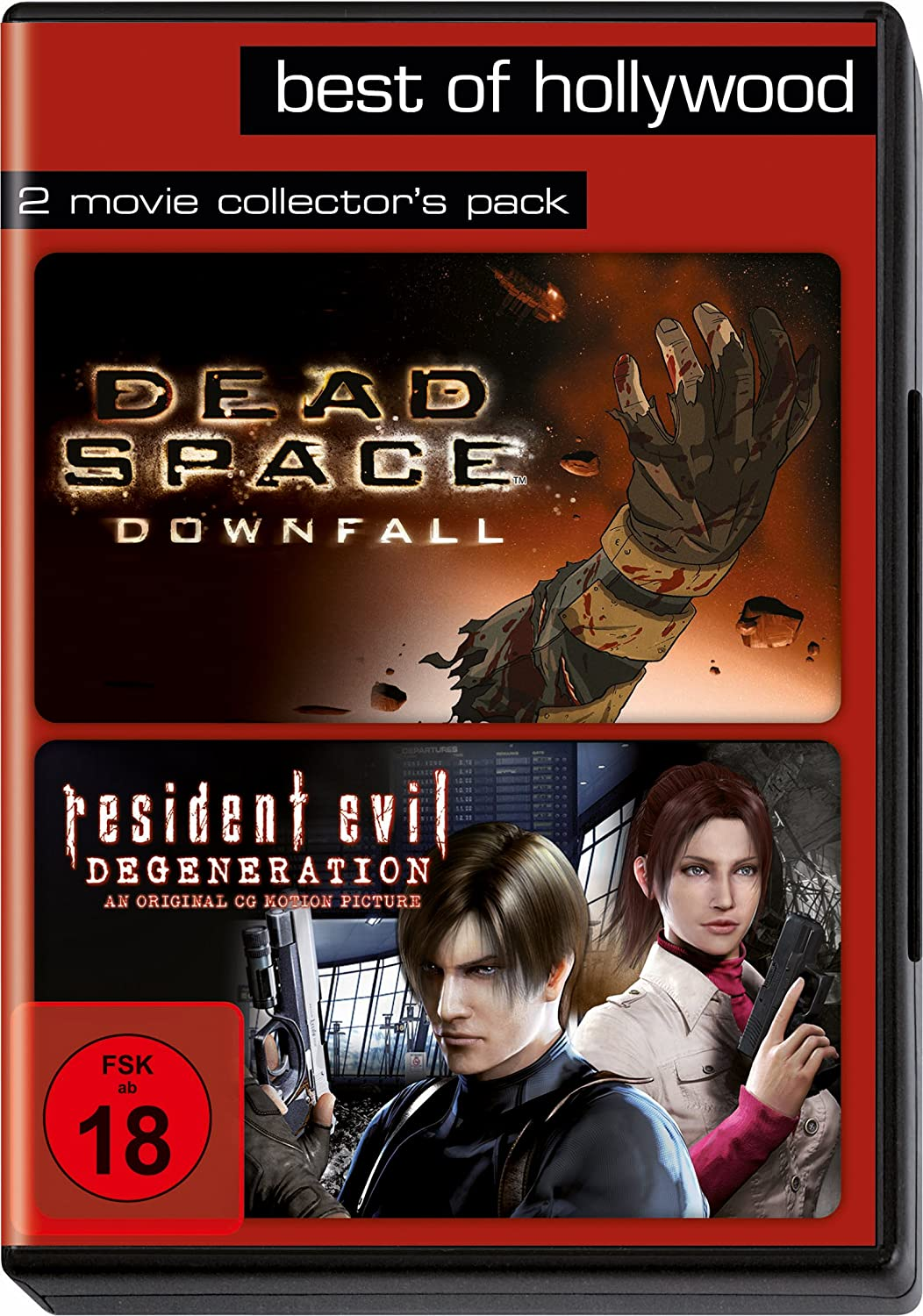 Best of Hollywood - 2 Movie Collectors Pack: Dead Space: Downfall ...