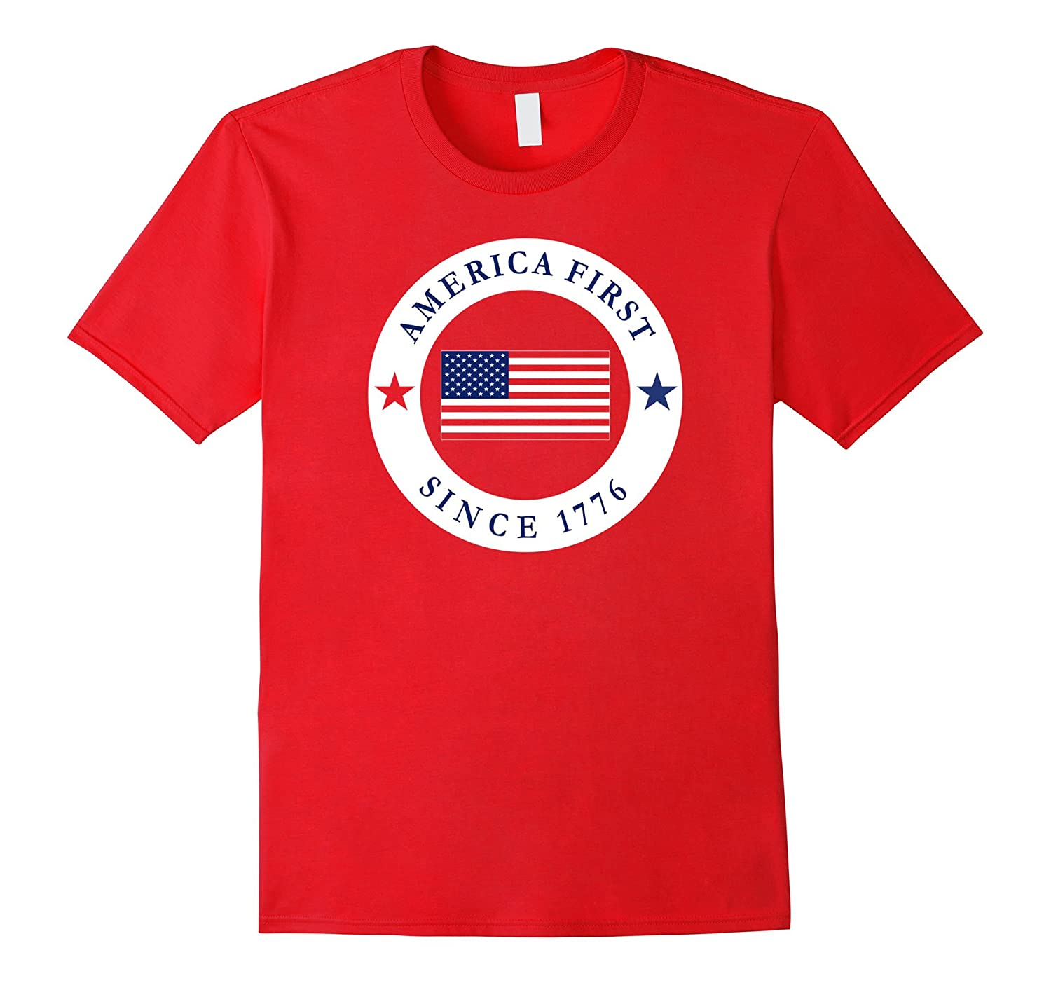America First Since 1776 Donald Trump T Shirt-Vaci
