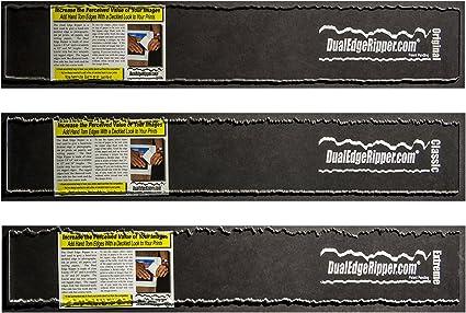 Dual Edge Ripper Original Watercolor Paper Deckle Edge Tool 1-24 inch