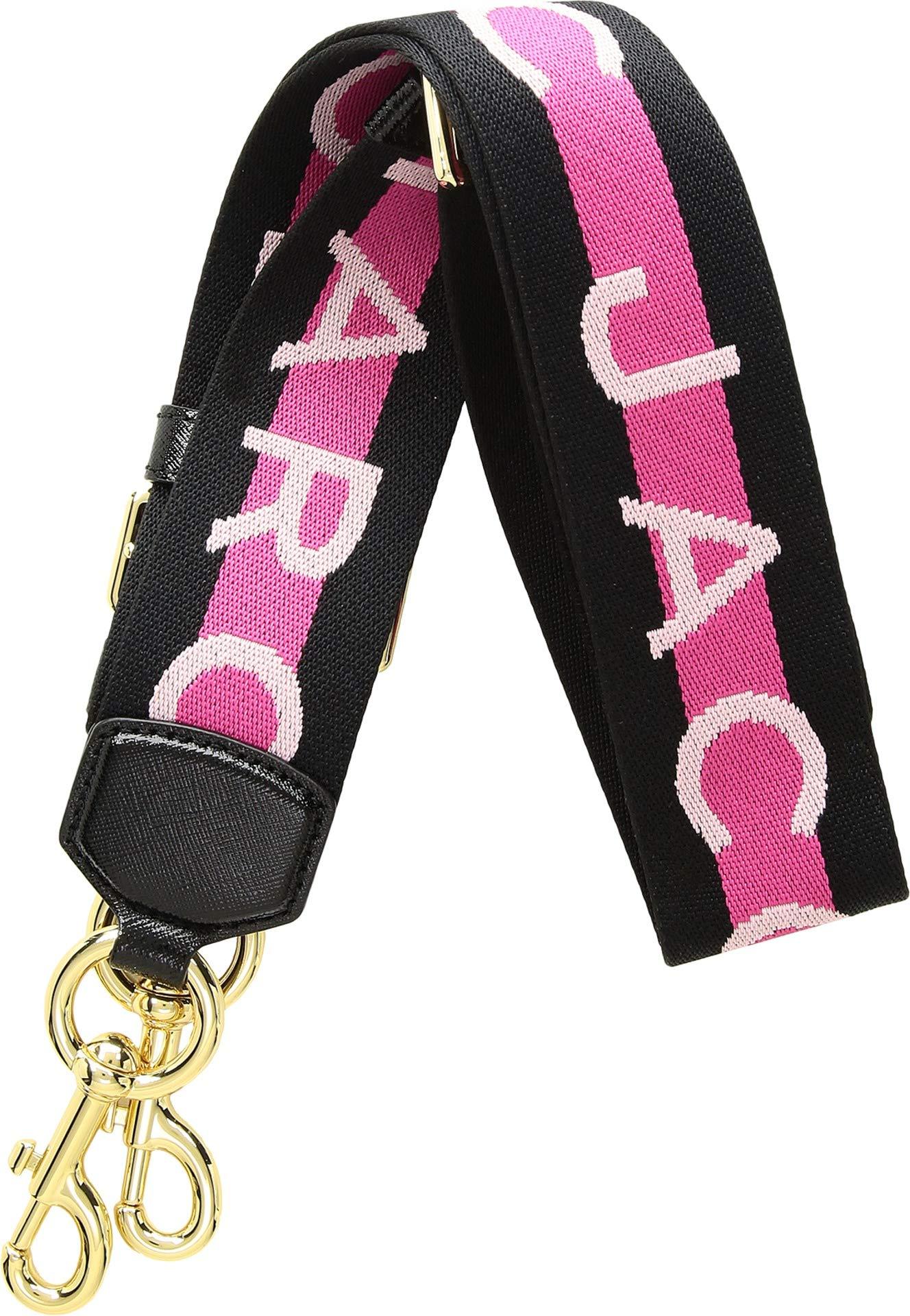 Marc Jacobs Women's Webbing Strap, Pink Multi, One Size
