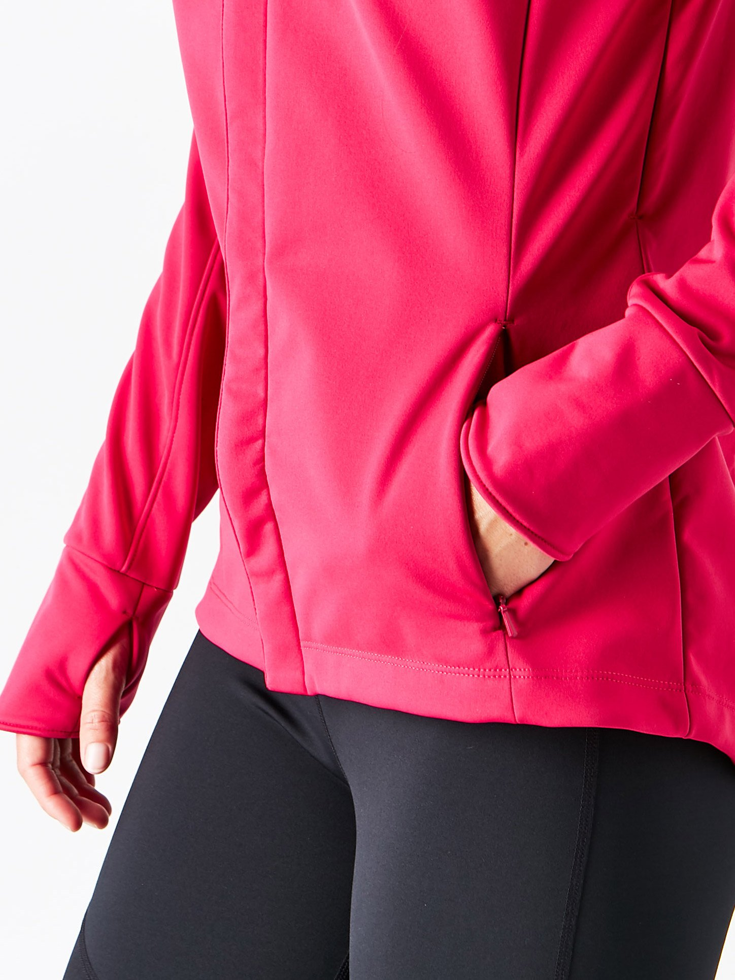ASICS Womens Softshell Jacket, Performance Black, Small by ASICS (Image #5)