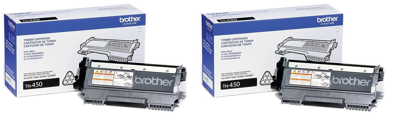Brother tn450高イールドブラックトナー B074Q316LR