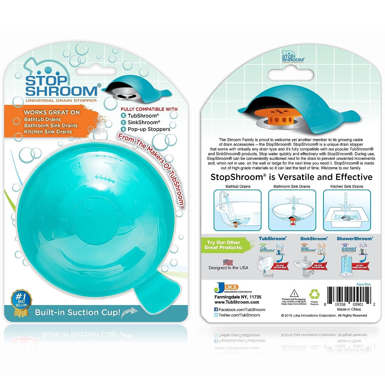 Amazon.com: StopShroom Universal Stopper Plug Cover for Bathtub ...