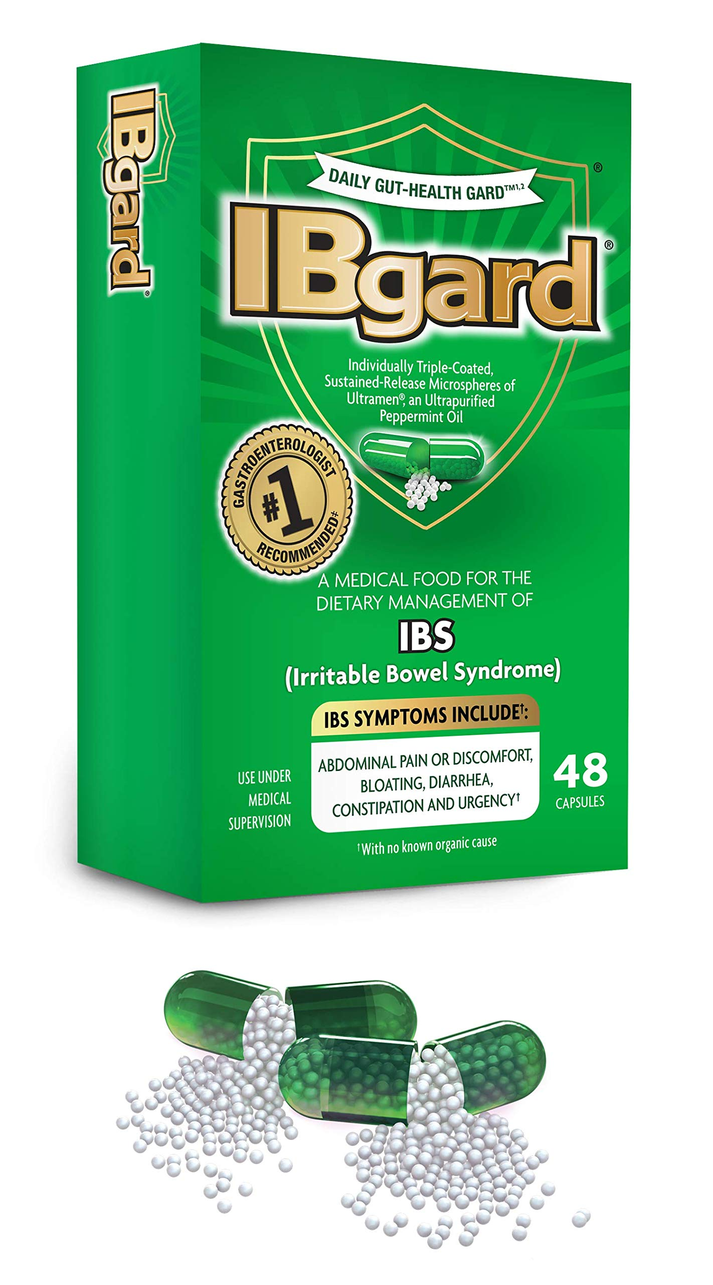 IBgard® for Irritable Bowel Syndrome, 48 Capsules