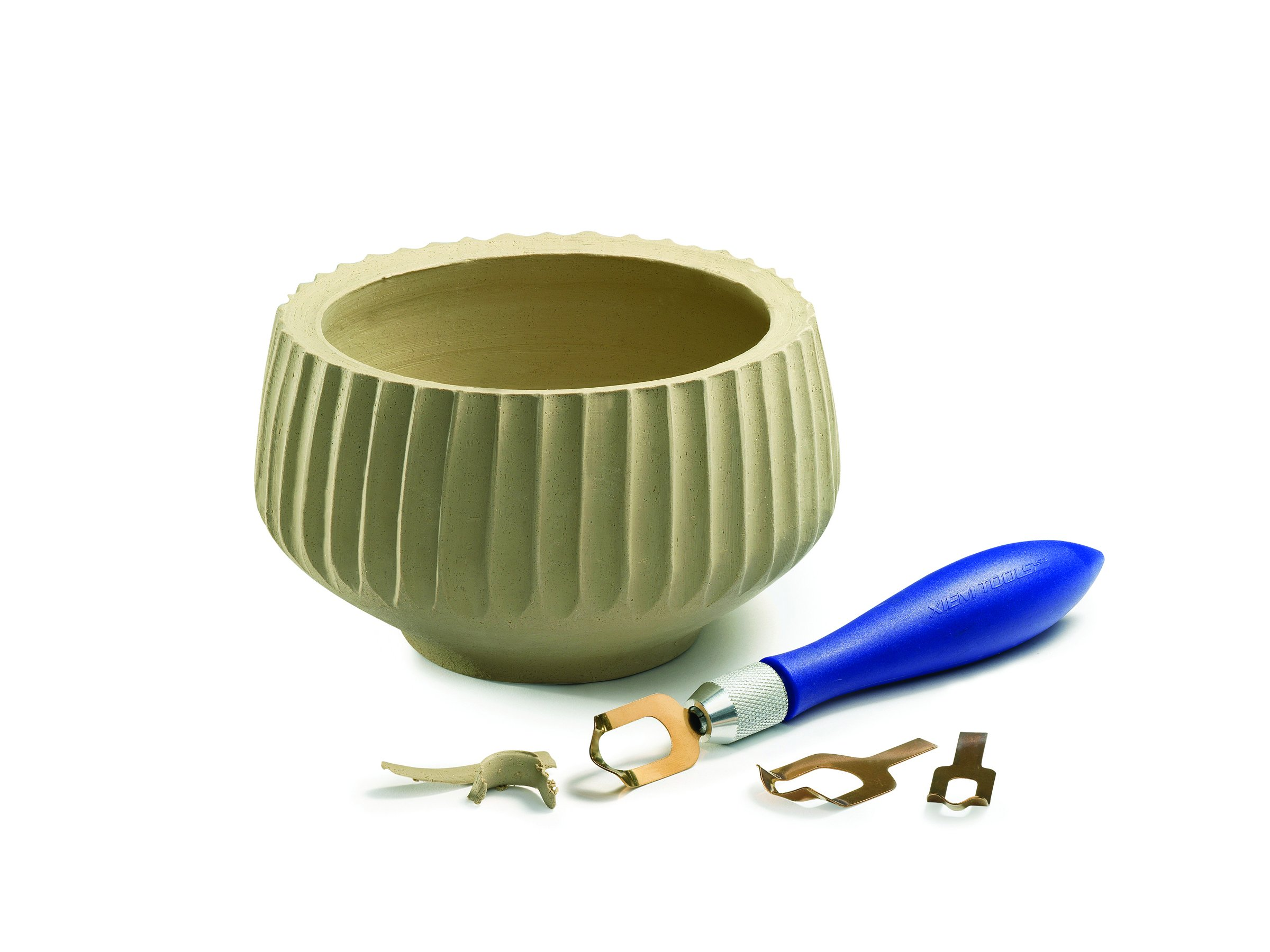 Xiem Tools USA Fluting Tool Set for Clay and Ceramics by XIEM (Image #3)