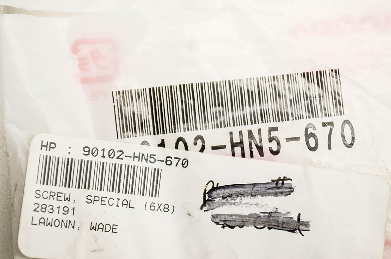 6x8 Honda 90102-HN5-670 Screw Special
