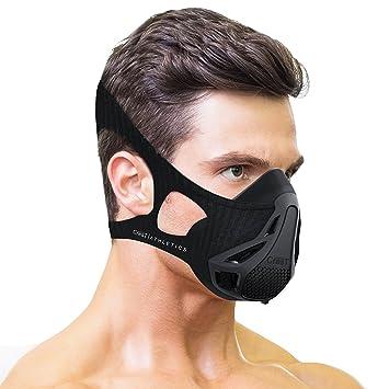 Escudo del Atletismo elevación máscara de entrenamiento – para ejercicio, HIIT, cardio, Running