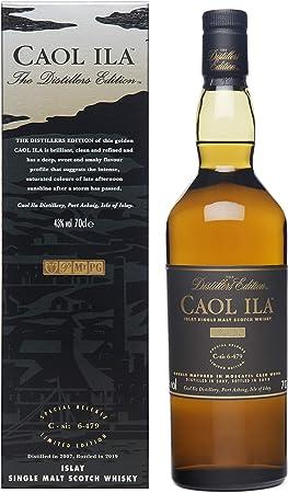 Caol Ila Distiller's Edition Whisky Escocés - 700 ml