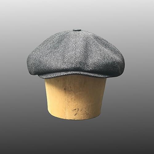 Amazon.com  Shelby Newsboy Bakerboy Peaky Blinders Cap Hat Bespoke  Handmade 48fe7e5628f