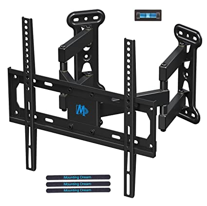 1e0c05f377a Mounting Dream Full Motion Corner TV Wall Mount Bracket for Most 26-50 Inch  LED