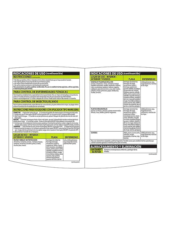 Amazon.com : Bayer Advanced NATRIA 706125 Ready-to-Spray Insect/Disease and Mite Control, 28-Ounce : Garden & Outdoor