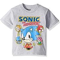 SEGA Boys S5SB037-04J Sonic The Hedgehog Short Sleeve Tshirt Short Sleeve T-Shirt - Gray