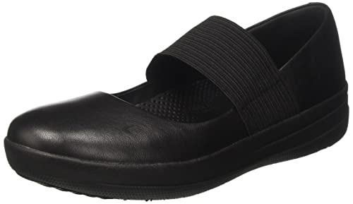 Fitflop Women's F-Sporty Mary Janes, Black (Black), 3 UK 36