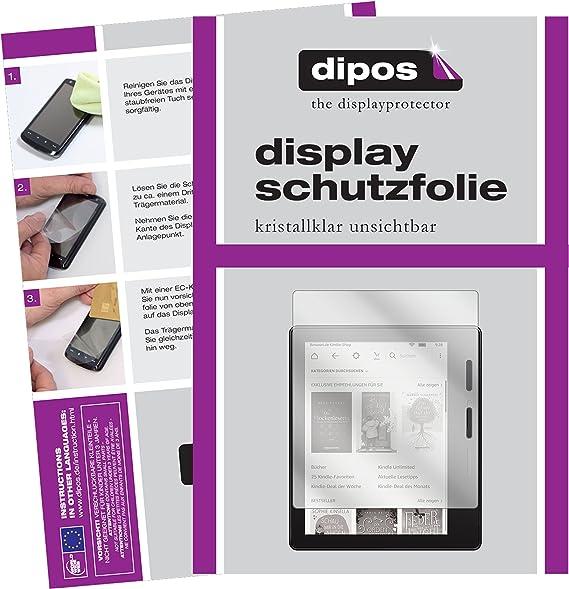 dipos I 2X Protector de Pantalla Compatible con Amazon Kindle Oasis eReader (2017) 7 Pulgada pelicula Protectora Claro: Amazon.es: Electrónica