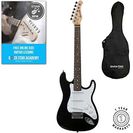 Stretton Payne Guitarras eléctricas para niños: Amazon.es ...