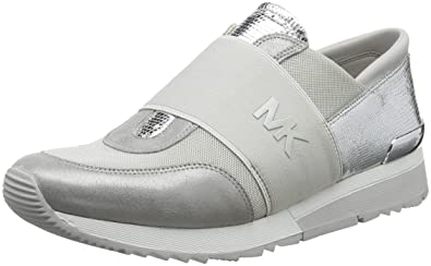 b65569fba7d75 Amazon.com: Michael Kors Women's Mk Trainer: Shoes