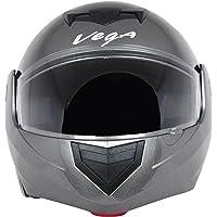 Vega Crux DX Flip-Up Helmet (Anthra, M)