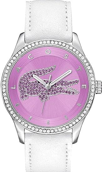 Lacoste – Reloj de Pulsera analógico para Mujer Cuarzo Piel 2000870