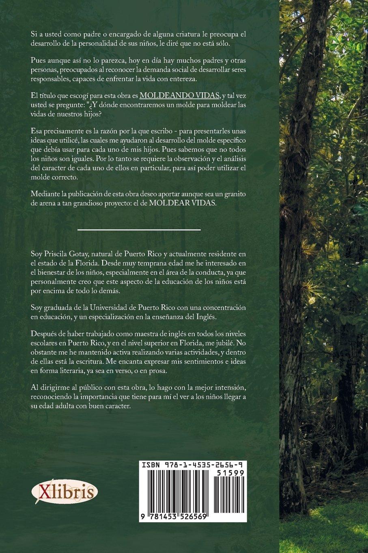 MOLDEANDO VIDAS (Spanish Edition): Priscila Gotay: 9781453526569: Amazon.com: Books
