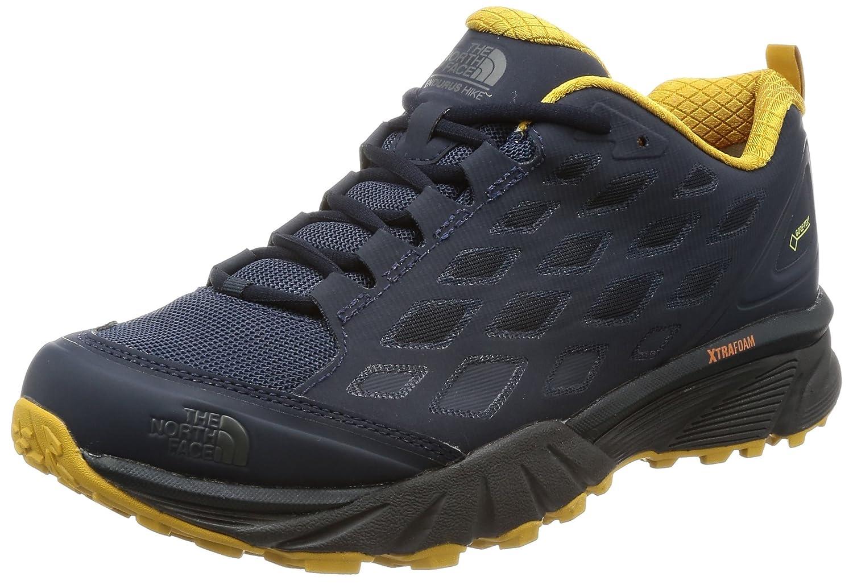 [ザノースフェイス] トレッキングシューズ Endurus Hike GORE-TEX メンズ B073S47D9S 27.5 cm アーバンネイビー×アローウッドイエロー