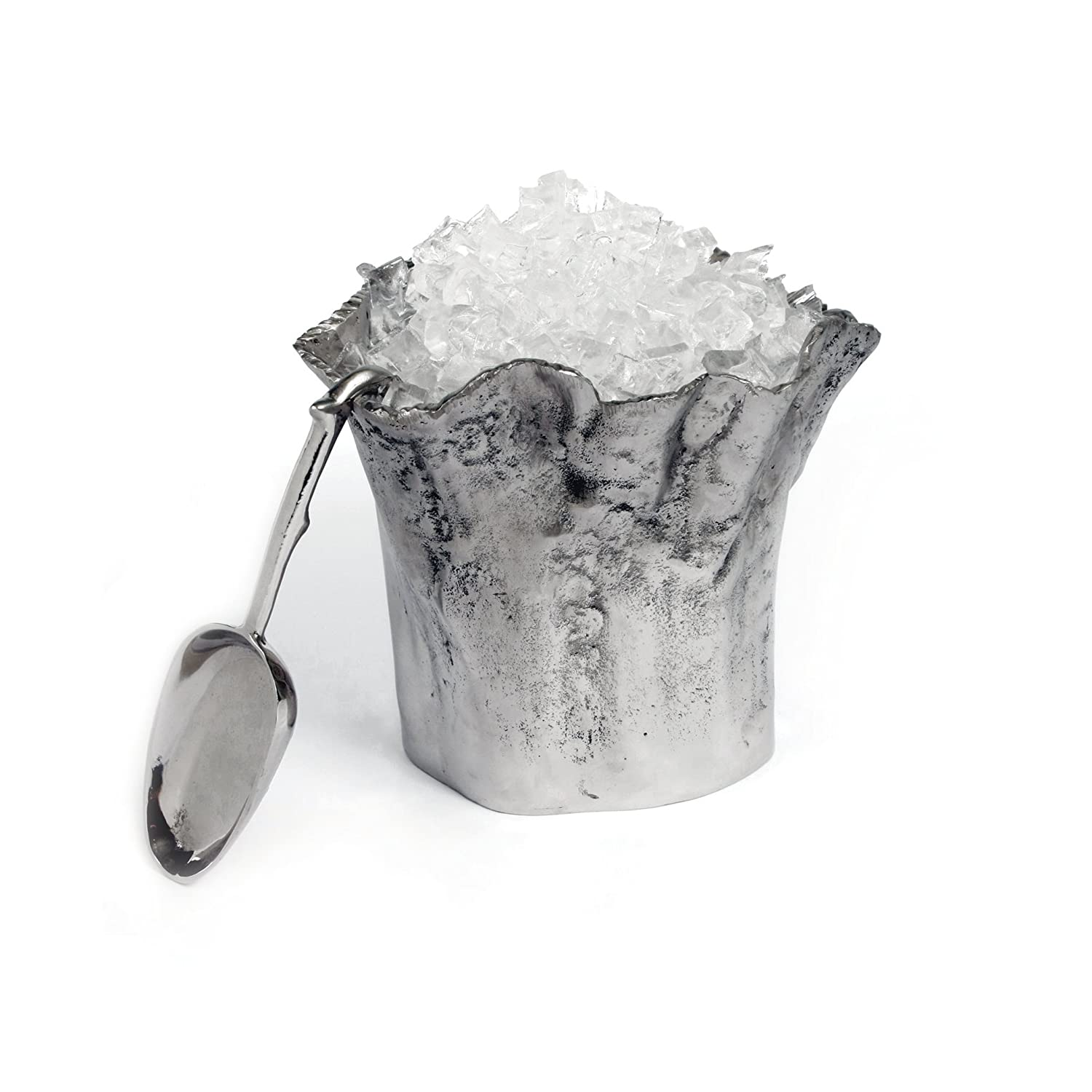 Star Home Artisan Trunk Ice Bucket with Scoop 10-InchH 40619
