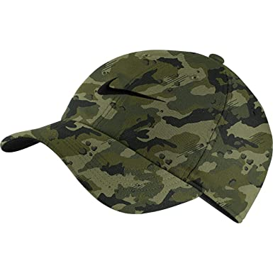 4034dd0e97e2d Image Unavailable. Image not available for. Color  Nike Unisex Arobill H86  Adjustable Twill Hat ...