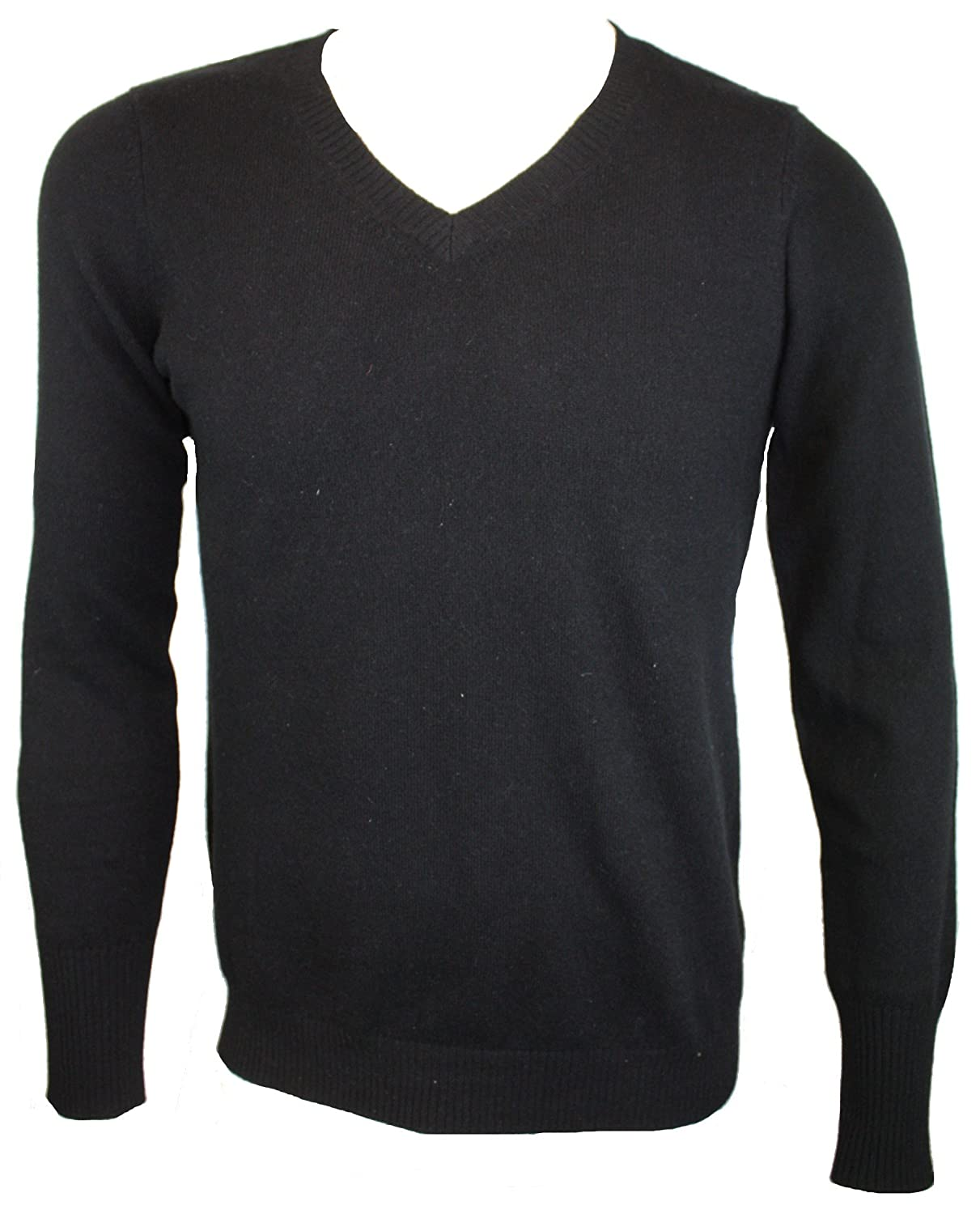 Discount Enzo Mantovani Long Sleeve V-Nack 100% Cashmere Sweater supplier
