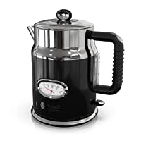 Deals on Russell Hobbs Retro Style 1.7L Electric Kettle KE5550BKR