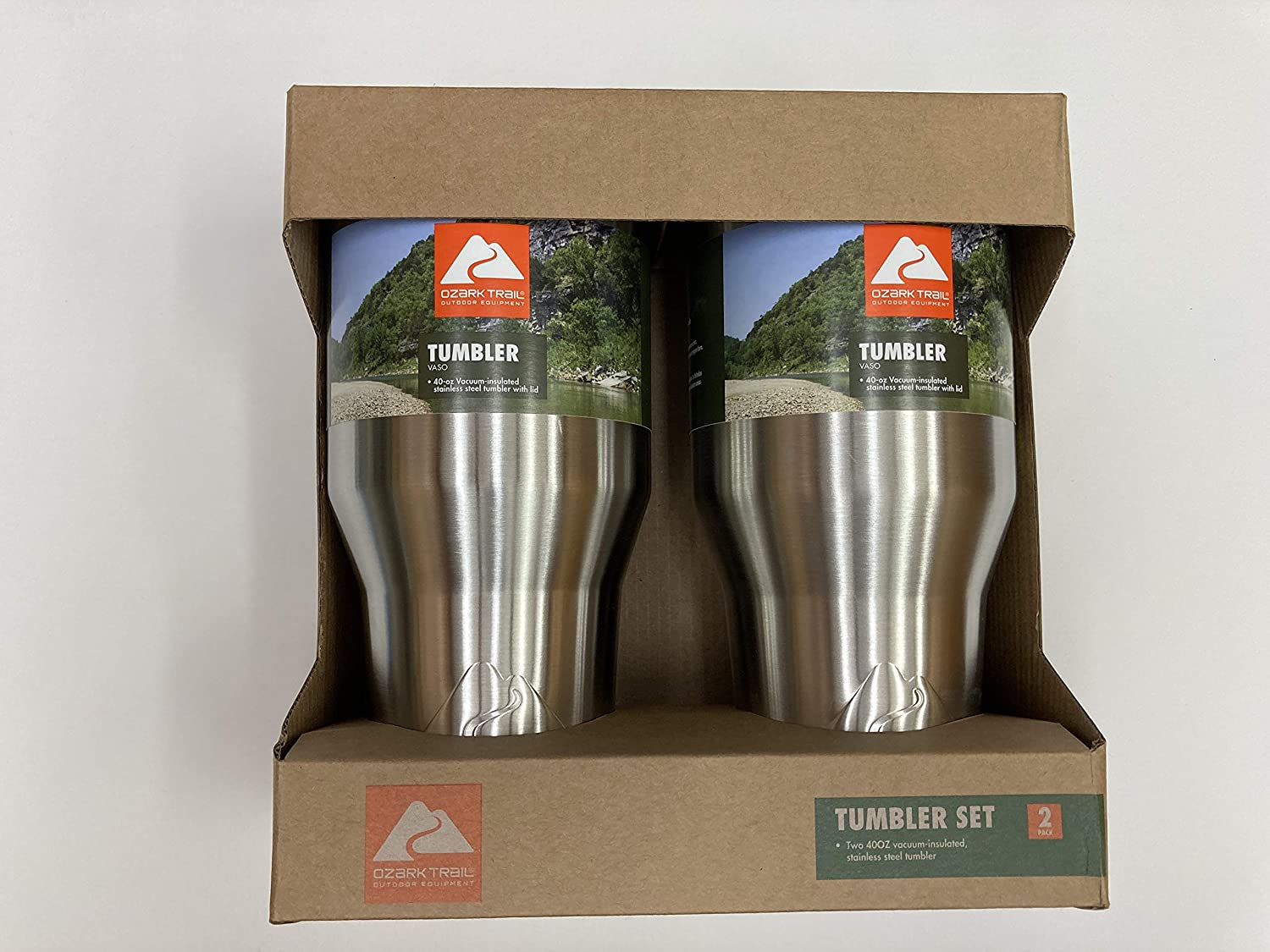 Double-Walled Insulated stainless steel 40oz tumbler