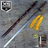 "37.5"" Kung Fu Tai Chi Sword Brass Detailing Heavy"