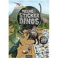 Meine Sticker-Dinos: Über 300 Sticker