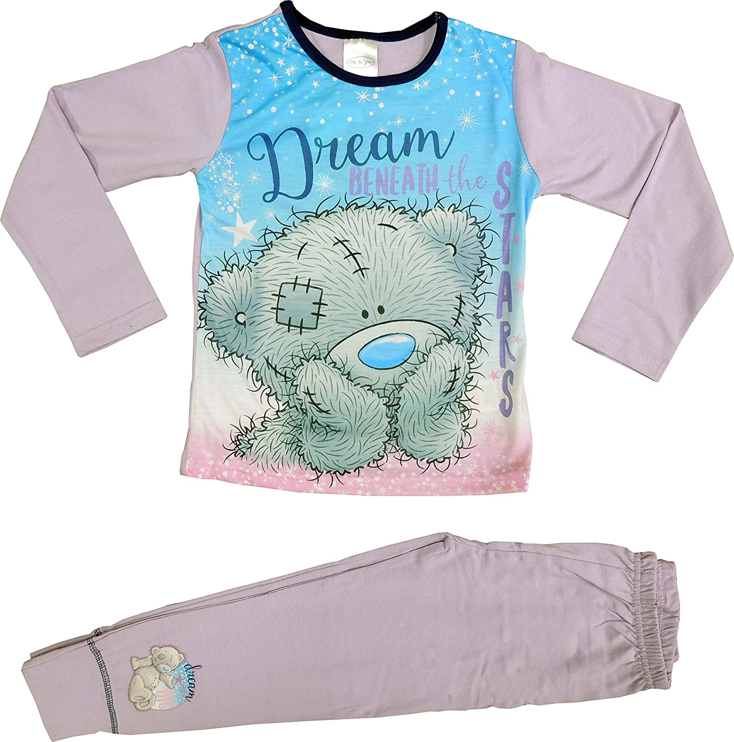 Tatty Teddy Me to You Girls Pyjamas PJs Ages 5 to 12 Years Old