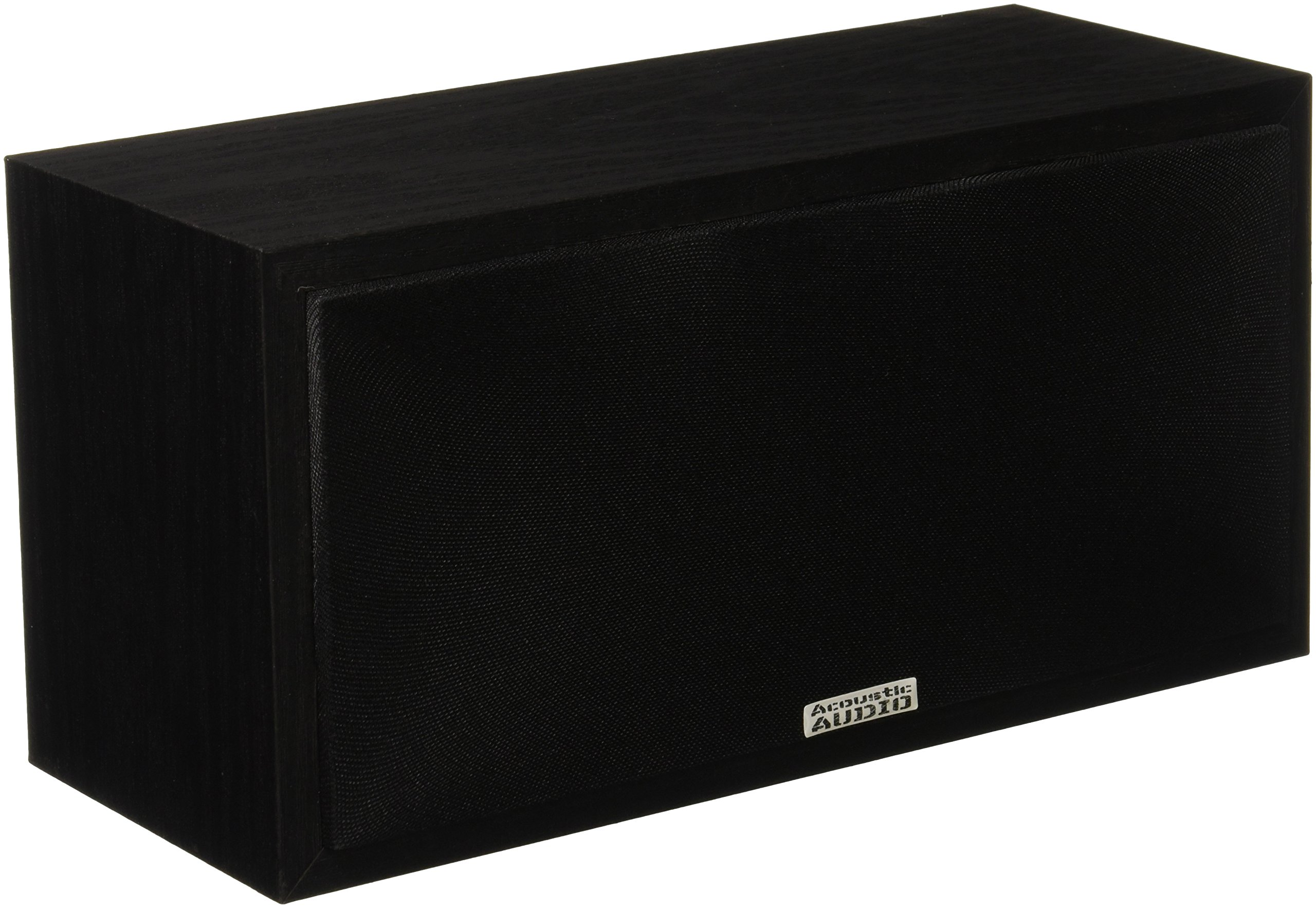 Acoustic Audio PSC-32 Center Channel Speaker (Black) by Acoustic Audio by Goldwood