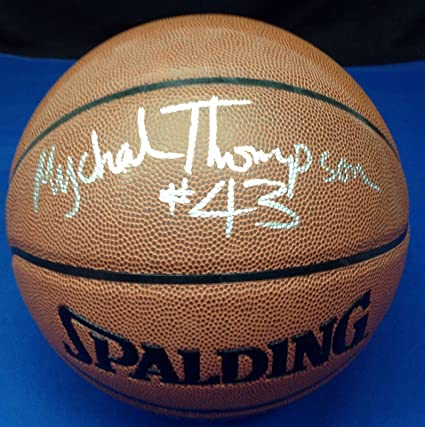 3c3df2aa5abc Mychal Thompson Signed Basketball - Spalding Cert  X33175 - PSA DNA  Certified - Autographed