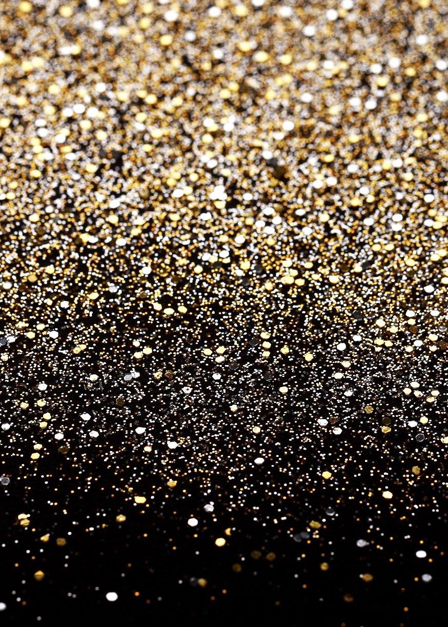 Daniu Gold Glitter Sequin Spot Backdrops Starry Sky Shining Astract Photo Background Party Wedding Children Newborn Photography Studio Props by Daniu