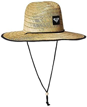f0f7a7adc45c3b Roxy Women's Tomboy 2 Straw Sun Protection Hat, True Black, ...