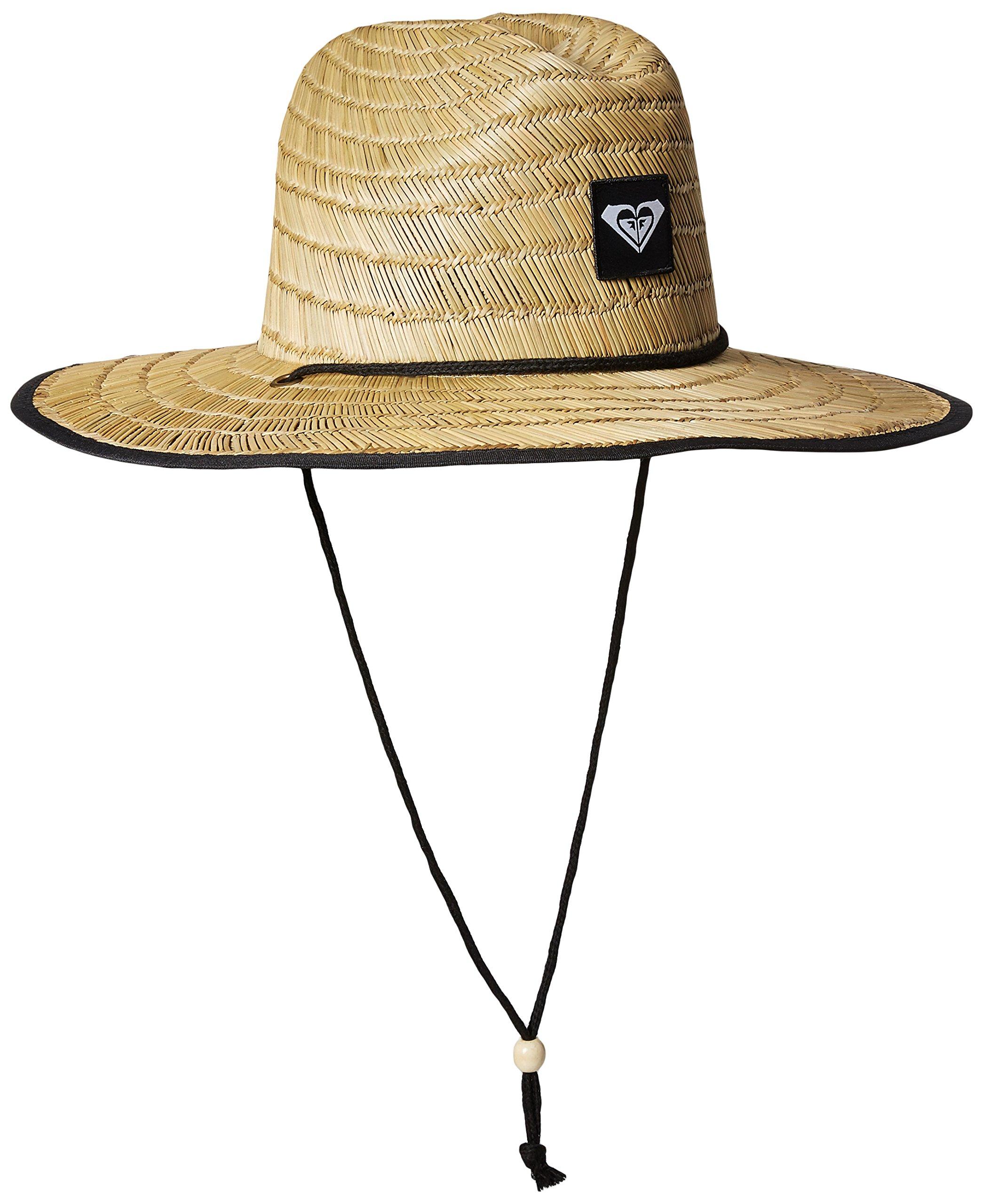 Roxy Women's Tomboy 2 Straw Sun Protection Hat, True Black, M/L