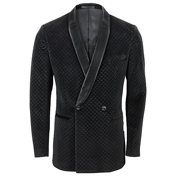 PAMONI - Chaqueta de traje - para hombre negro negro: Amazon ...