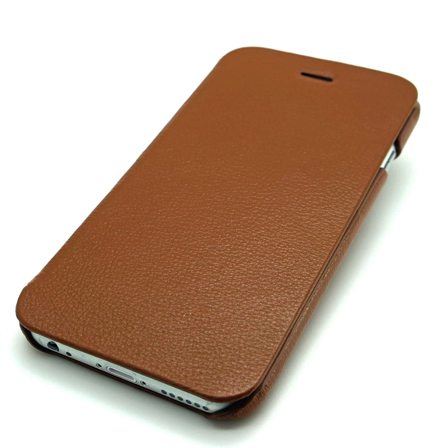 a6d17dd6bf05 Apple iPhone 6 6s case cover HOCO PREMIUM COLLECTION GENUINE LEATHER FOLDER  Wallet Book (BROWN)  Amazon.co.uk  Electronics