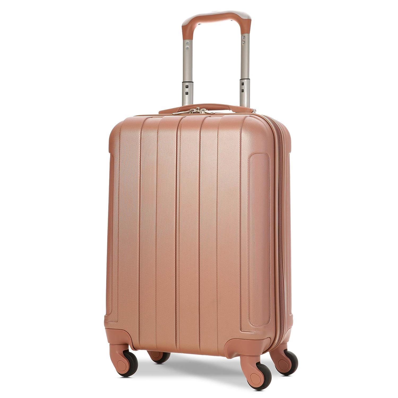 [amazon.de] EONO Hartschalen Handgepäck Koffer schwarz oder rosegold um 28,33€